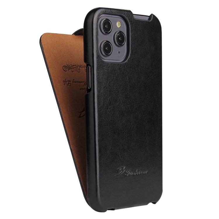 Кожаный флип-чехол для Айфон 12