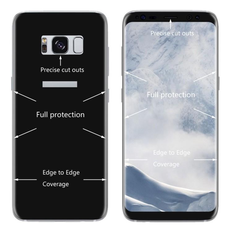 защитное стекло ENKAY Hat-Prince для Samsung Galaxy S8-черные
