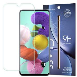 Защитное стекло 2.5D  9H для Samsung Galaxy Note 10 Lite / Samsung Galaxy A71-прозрачное