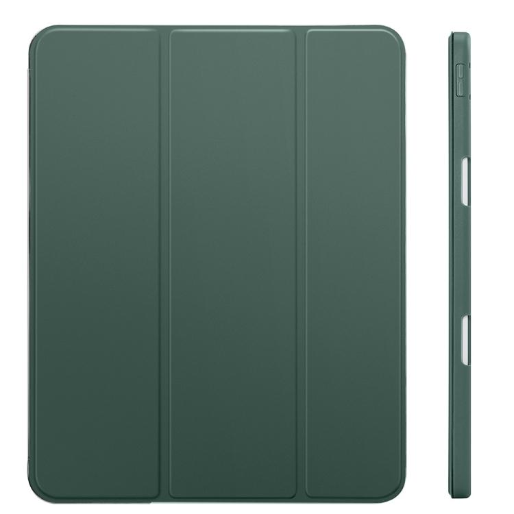 Зеленый противоударный чехол-книжка для Айпад Про 11