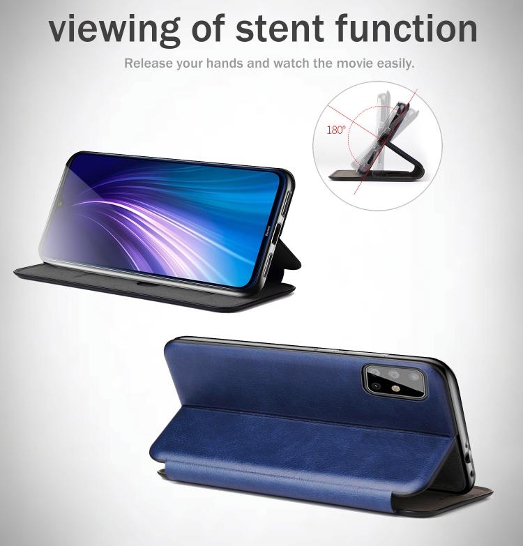 Чехол-книжка подставка на Samsung Galaxy S20 FE черный