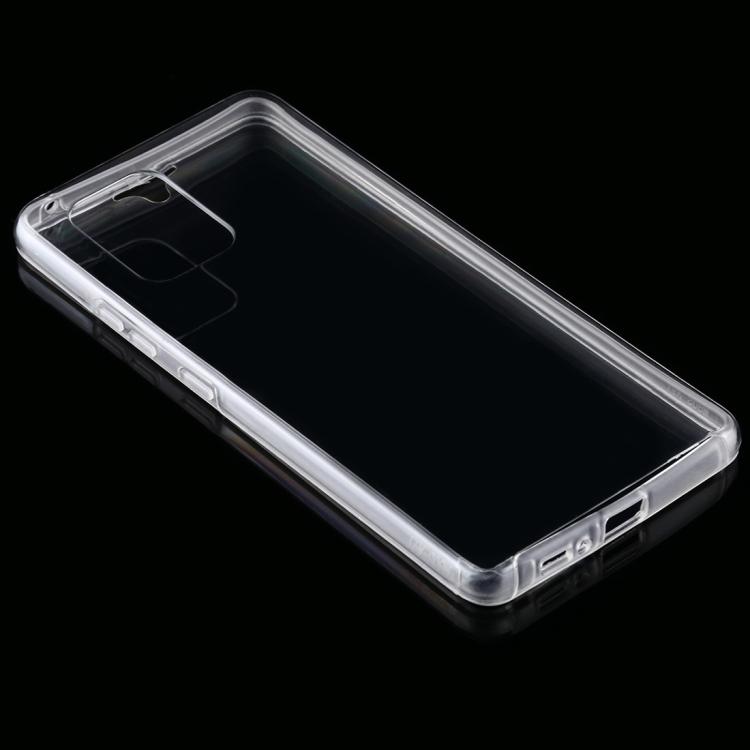 Двусторонний ультратонкий чехол Double-sided Full Coverage на Samsung Galaxy S10 Lite - прозрачный