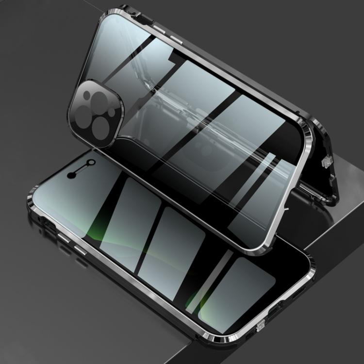 Двусторонний магнитный чехол для Айфон 12 Про Макс