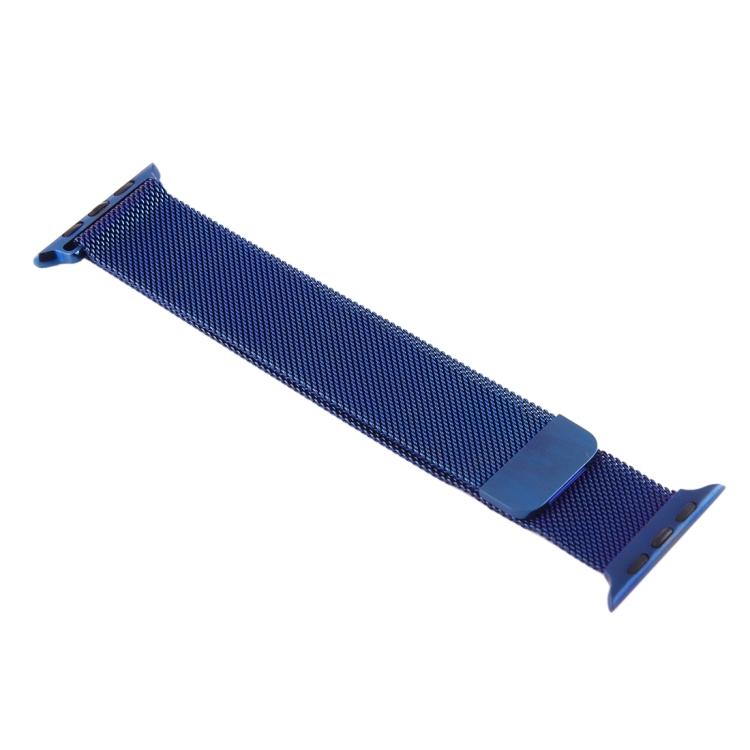 Синий браслет для Эпл Вотч 38/40мм