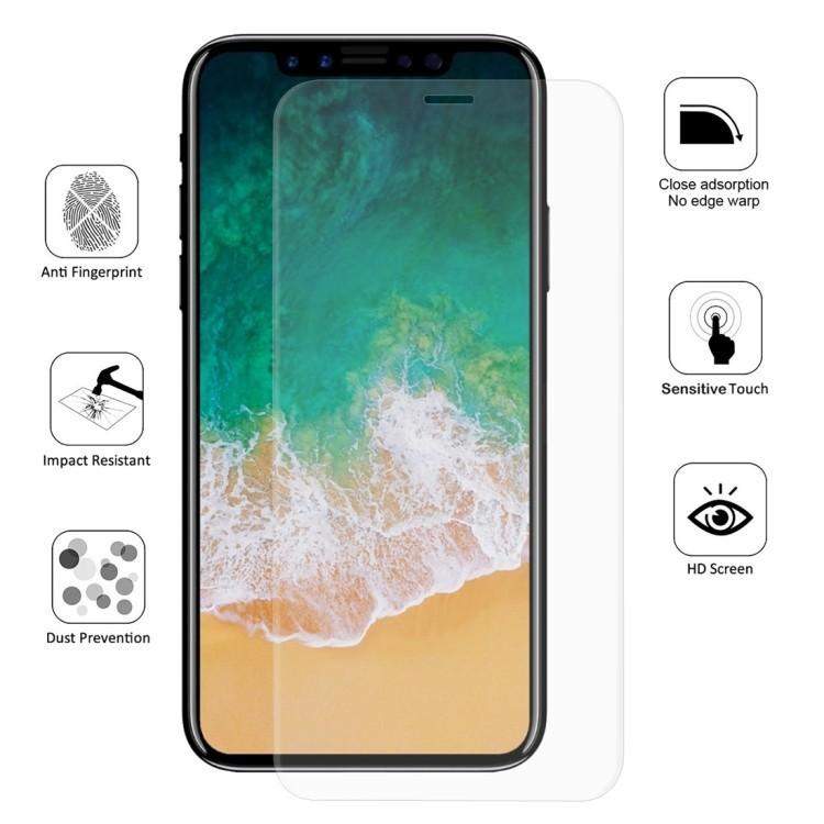 Прозрачная 3D защитная пленка ENKAY на Айфон11 Про Макс/Xs Макс