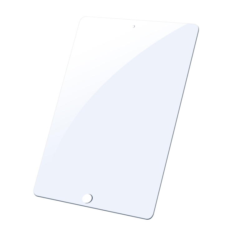 Белое защитное стекло на Айпад 10.2