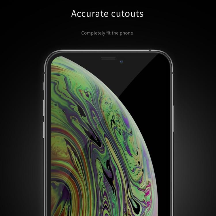 3Д защитное стекло Ниллкин ИксДи Фул на Айфон 11 Про Макс- черное
