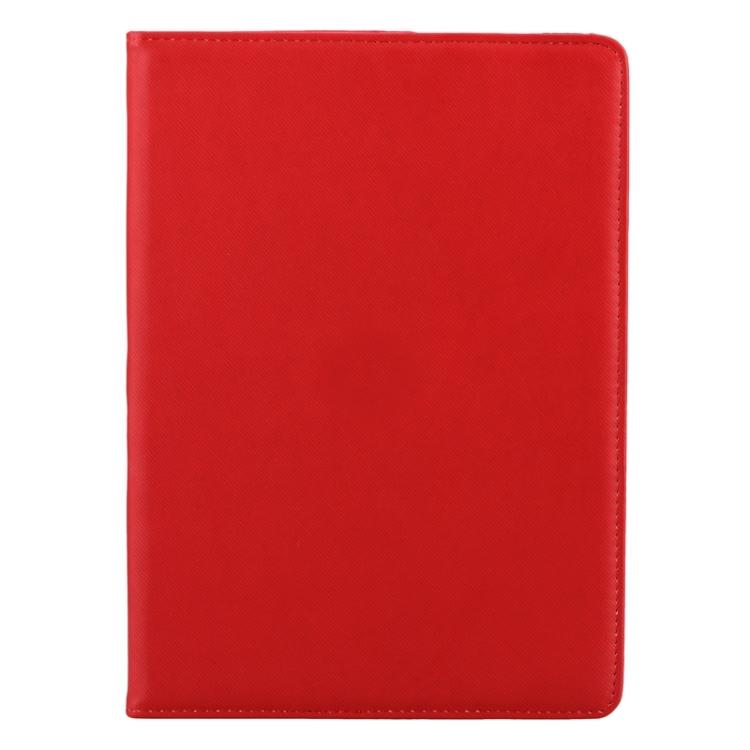 Красный кожный чехол-книжка на Айпад Аир 2