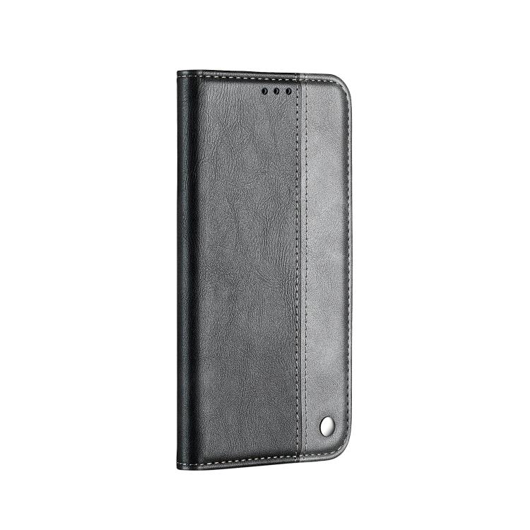 Чехол-книжка Business Solid Color для iPhone 13 - серый