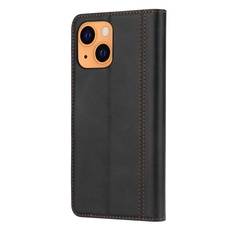 Чехол-книжка на Айфон 13 mini - черный