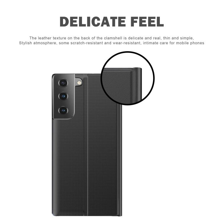 Противоударный чехол-книжка подставка на Samsung Galaxy S21