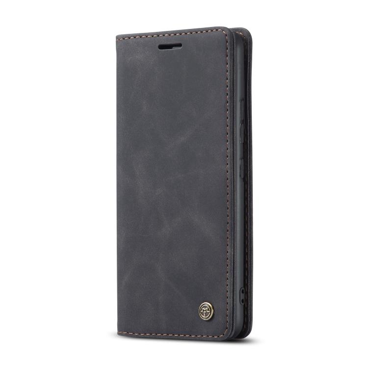 Кожаный чехол CaseMe-013 Multifunctional на Samsung Galaxy S10 Lite - черный