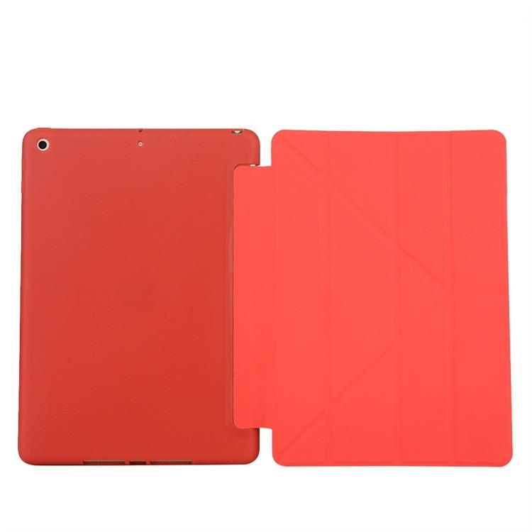 Красный Solid Deformation  на iPad 8/7 10.2