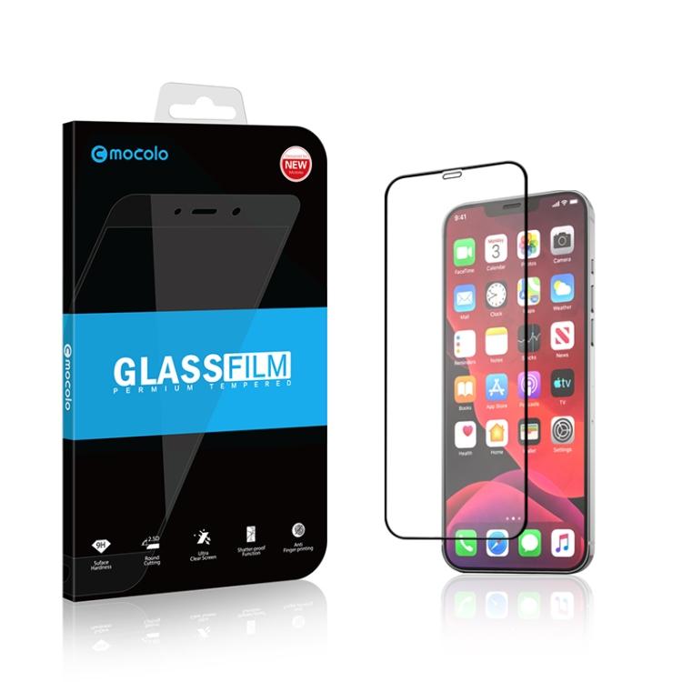 Защитное стекло mocolo 0.33mm 9H 3D Full Glue для Айфон 12 Mini