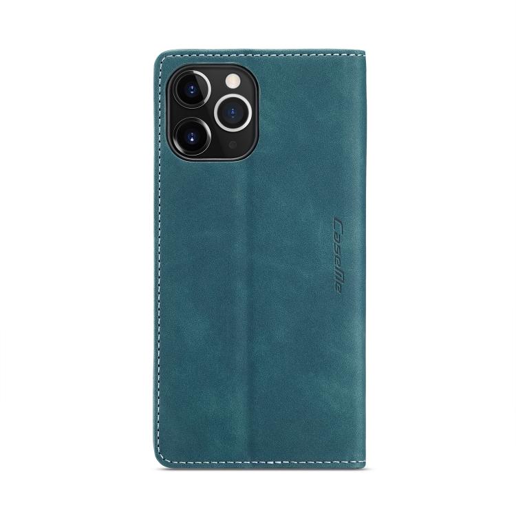 Кожаный чехол CaseMe-013 Multifunctional на iPhone 12 Pro Max - синий