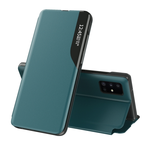 Чехол-книжка  на Samsung Galaxy M31S - зеленый