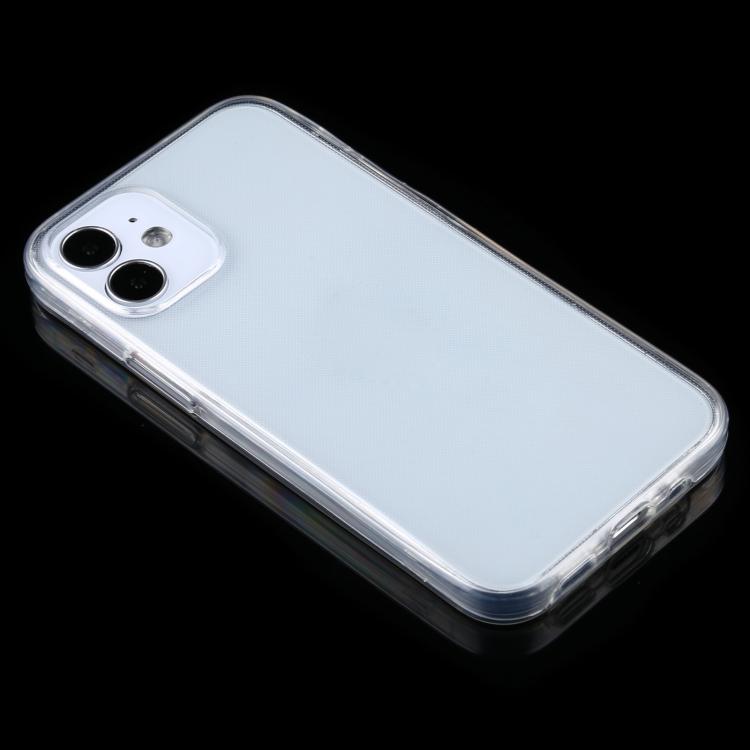 Двусторонний силиконовый чехол на Айфон 12 Мини