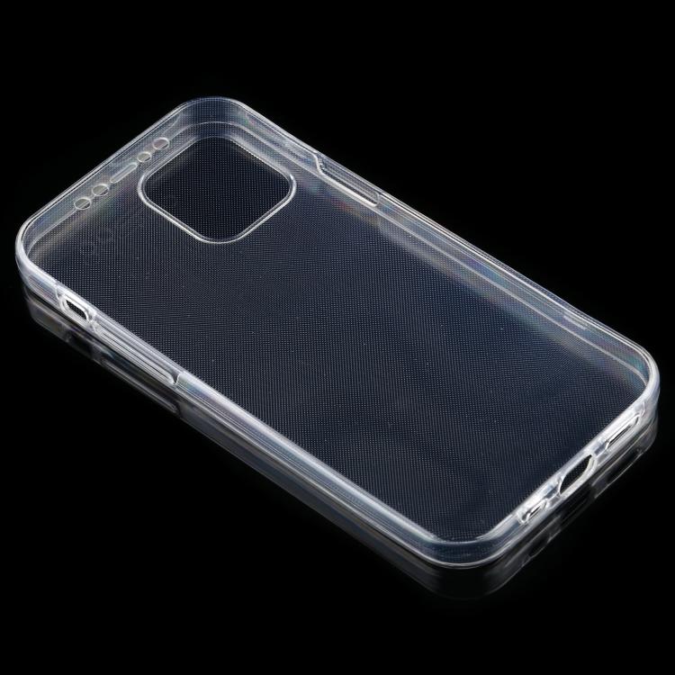 Ударостойкий прозрачный чехол накладка для Айфон 12