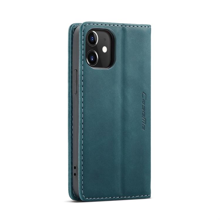 Кожаный чехол CaseMe-013 Multifunctional на Айфон 12 Mini - зеленый