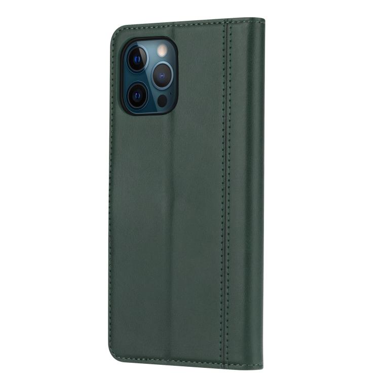 Чехол-книжка на Айфон 13 Pro Max - зеленый