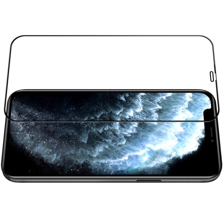 Стекло каленое с черной рамкой для Айфон 12