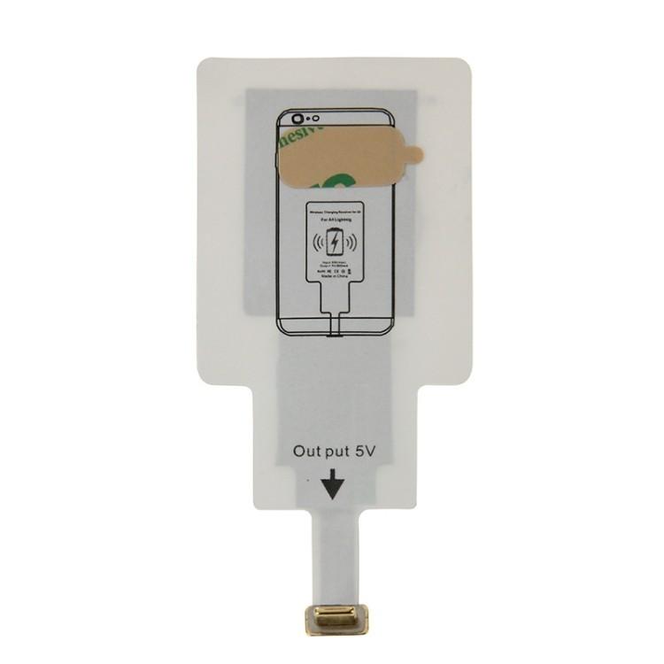 Приемник для беспроводной зарядки Lightning iPhone 7/ 7 Plus/ 6/ 6S/ 6 Plus/ 6S Plus/ 5/ 5S/ SE