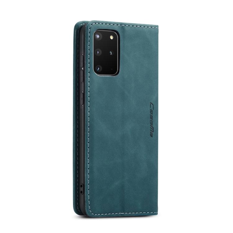 Кожаный чехол CaseMe-013 Multifunctional на Samsung Galaxy S20 Plus - синий
