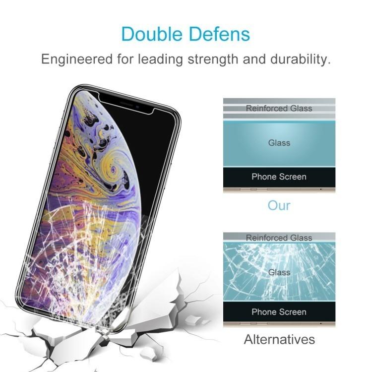 Защитное стекло 9H 2.5D  Айфон 11 Про Макс/Xs Макс