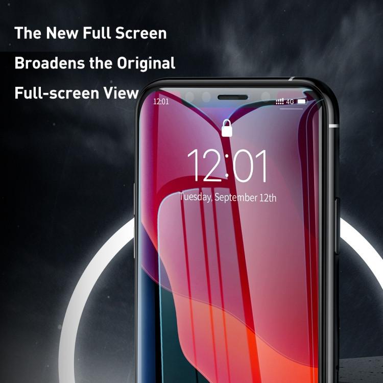 3D  защитное стекло  для Айфон 11 Про Макс