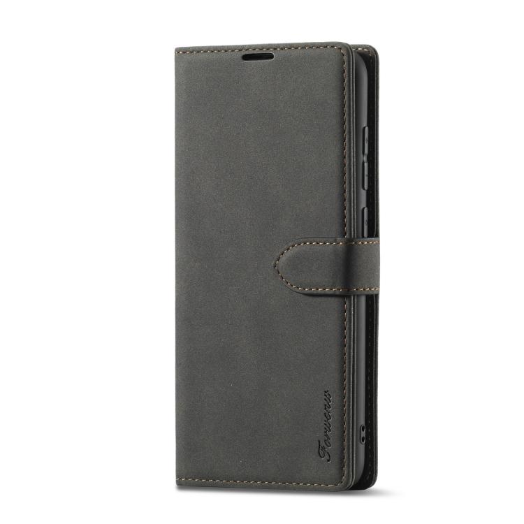 Черный кожаный чехол-книжка для Сяоми Редми Нот 9
