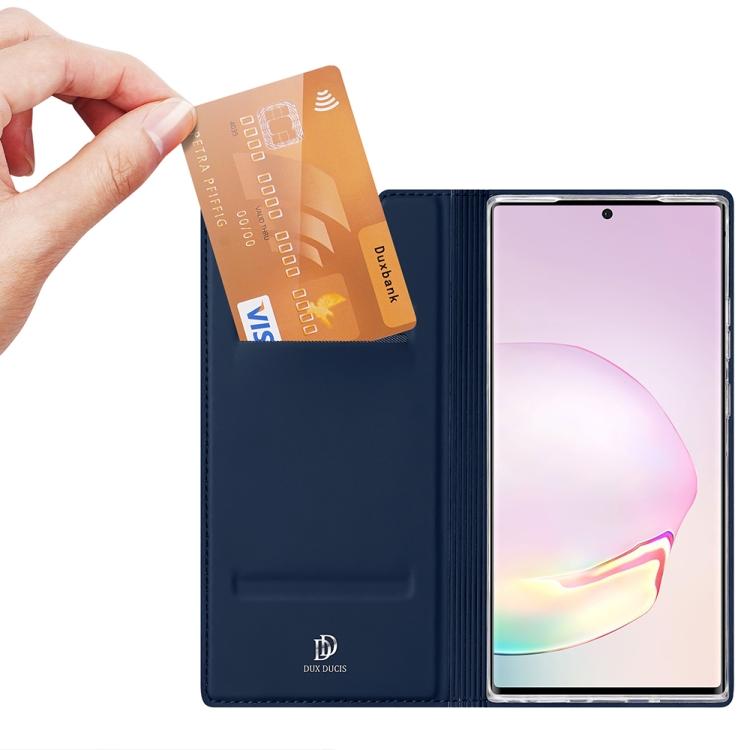 Чехол-книжка DUX DUCIS Skin Pro на Samsung Galaxy Note 20 Ultra - синий