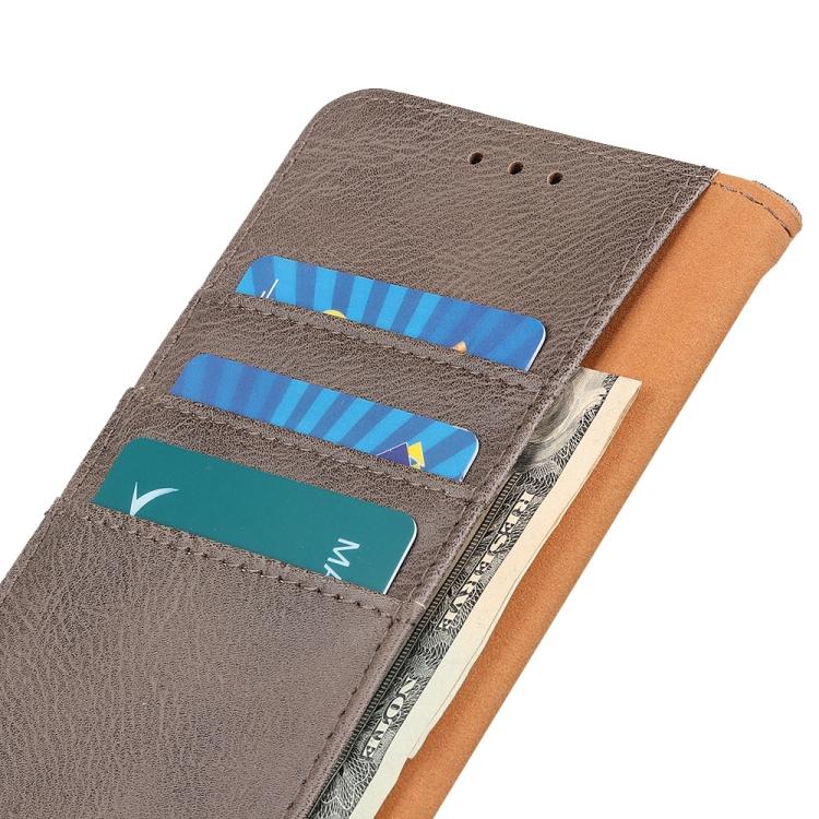 Чехол-книжка с слотами под кредитки на Айфон 12 Мини