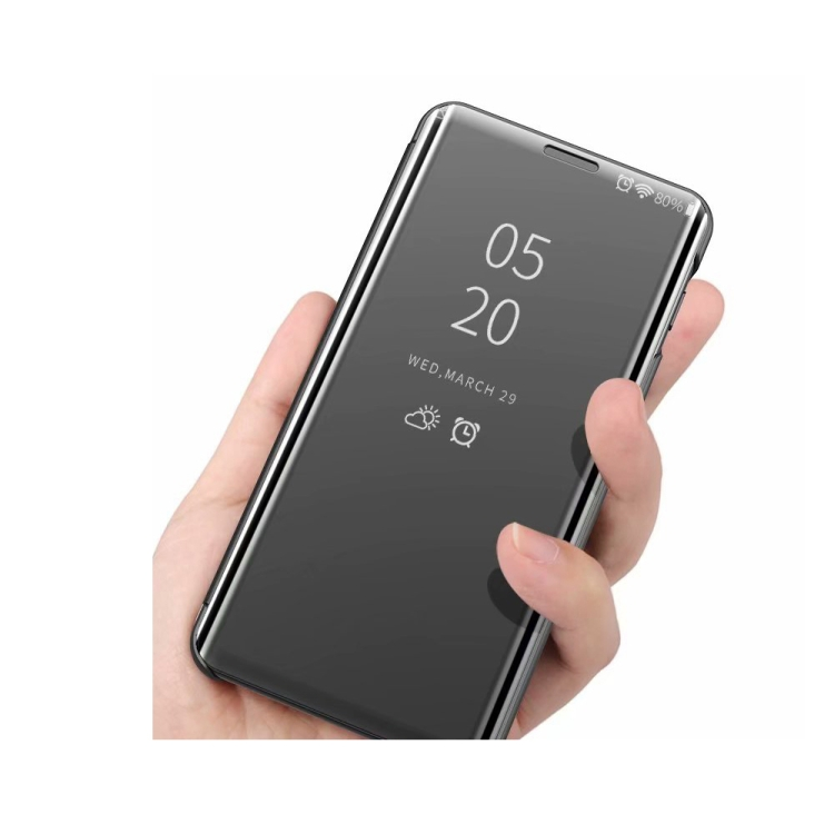 Чехол-книжка Clear View на Samsung Galaxy A32 4G - золотой