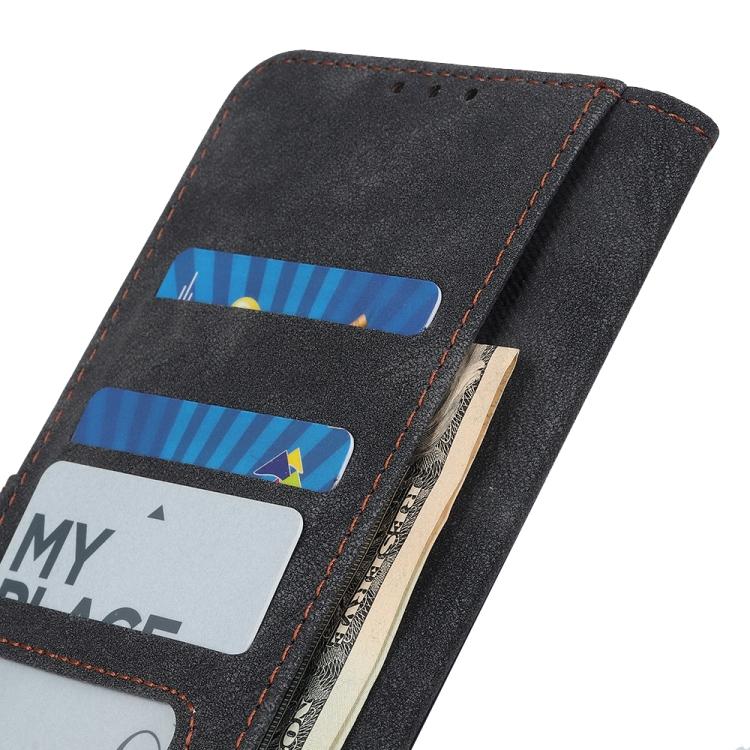 Чехол-книжка черного цвета с отделениями для кредиток на Ксяоми Поко X3 Про