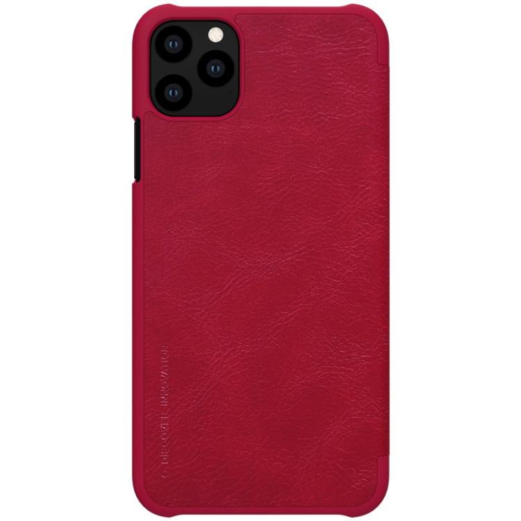 Чехол- книжка NILLKIN QIN Series на iPhone 11 Pro- красный