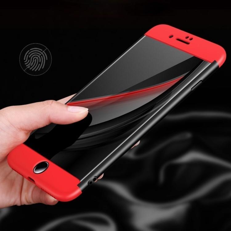 3D чехол GKK на iPhone 7 Plus черный