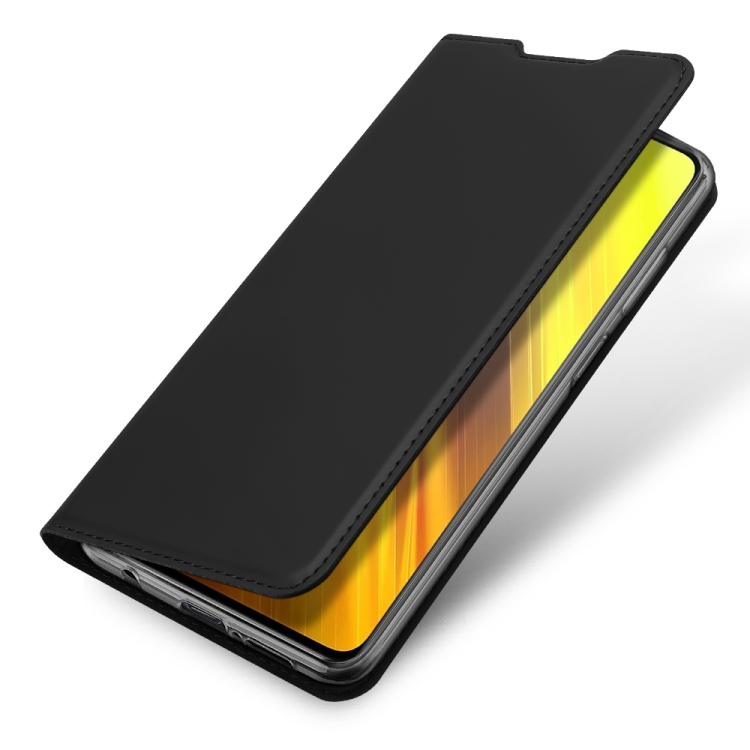 Чехол-книжка DUX DUCIS Skin Pro Series на Xiaomi Poco X3 / Poco X3 Pro - черный