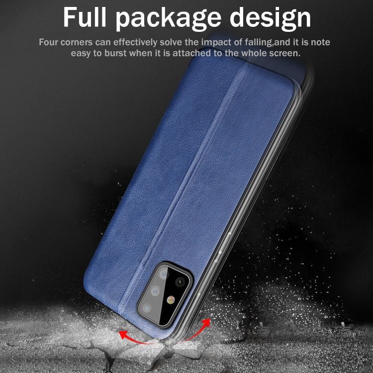 Противоударный чехол-книжка с подставкой на Samsung Galaxy S20 FE