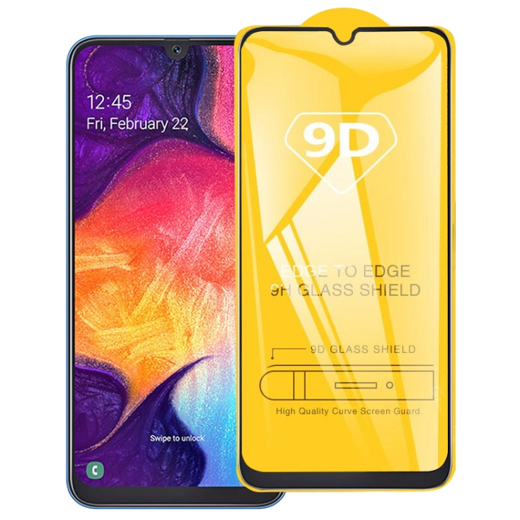 9D Защитное стекло клейкое всей поверхностью на Samsung Galaxy S10e