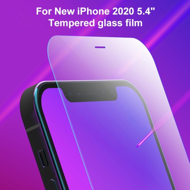 Защитное стекло MOMAX Explosion-proof на iPhone 12 Mini  - прозрачное