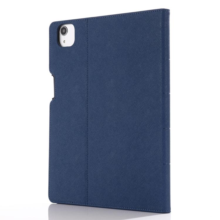 Синий защитный ударостойкий чехол-книжка для Айпад Про 11