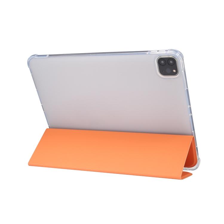 Оранжевый чехол-книжка с складной подставкой на Айпад Про 11