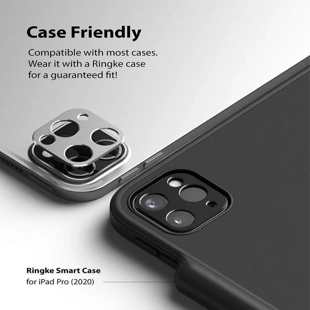 Защитное стекло на камеру  для iPad Pro 12,9 2021/2020/ Айпад Про 11 2021/2020 - черное