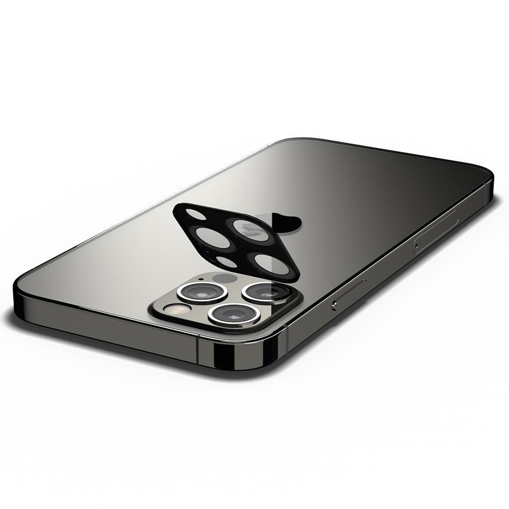 Защитное стекло на камеру для iPhone 12 Pro Black