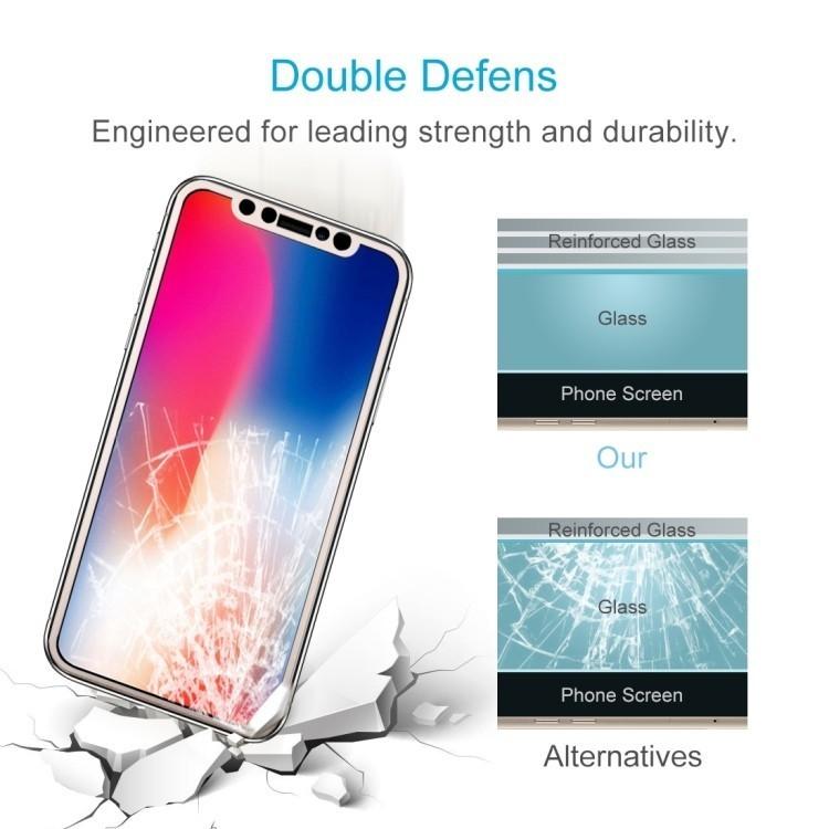 Защитное стекло на iPhone 11 Pro/X/Xs 0.26mm 9H Surface Hardness 3D Explosion-proof Full Screen золотое