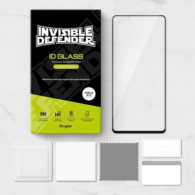 Защитное стекло Ringke Invisible 3D 0,33 mm для Галакси A52