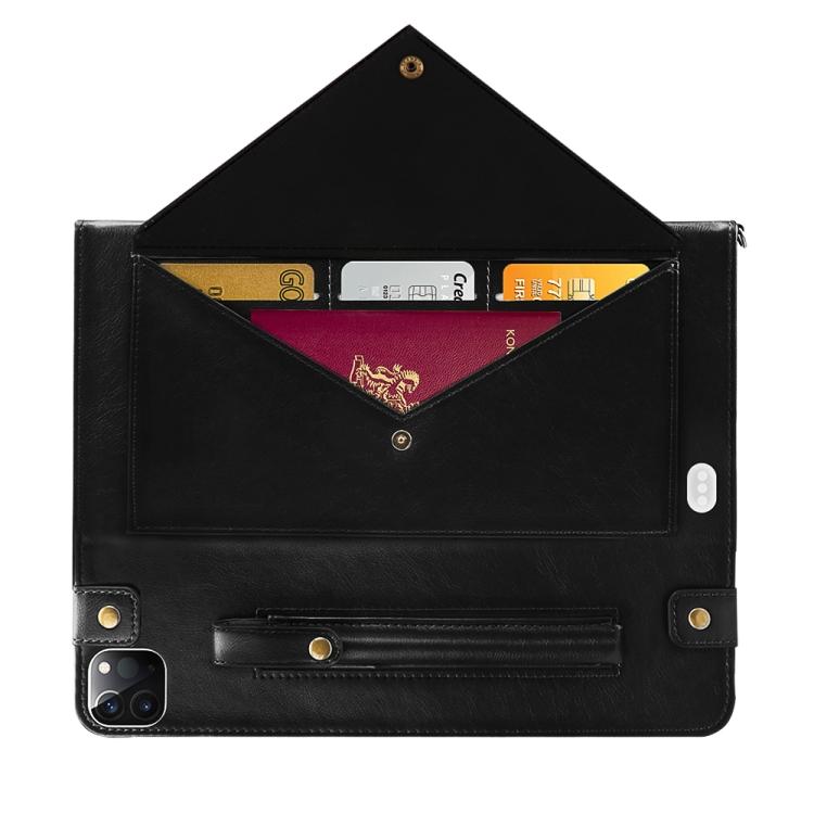 Черный чехол-конверт для Айфон Про 11