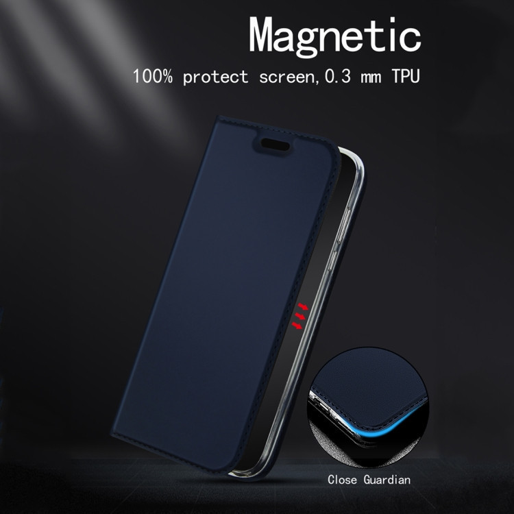 Чехол- книжка DZGOGO ISKIN Series  на Samsung Galaxy A50/A30s/A50s-черный