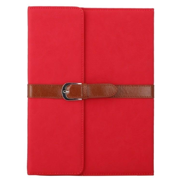 чехол книжка Bussiness Style на Айпад4 / New Айпад/ Айпад 2 красный