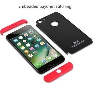 3D чехол GKK на iPhone 7 /8 paragraph Shield 360 Degrees Full Coverage Protective (Black)